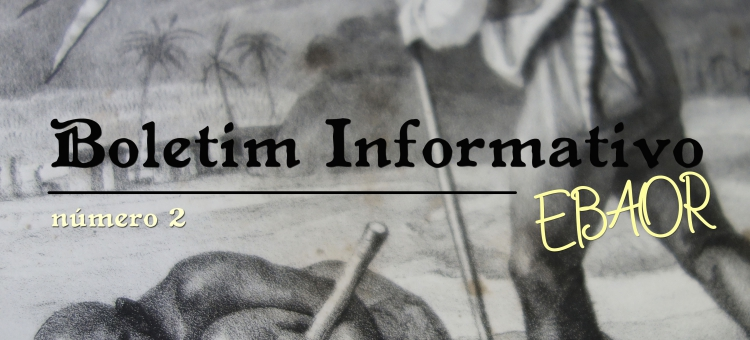 Segundo número do Boletim Informativo da EBAOR